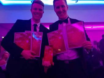 Award winning PR agency staff with numerous PR awards