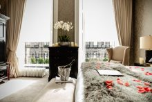 Romantic Room at Nira Caledonia in Edinburgh: Hospitality PR