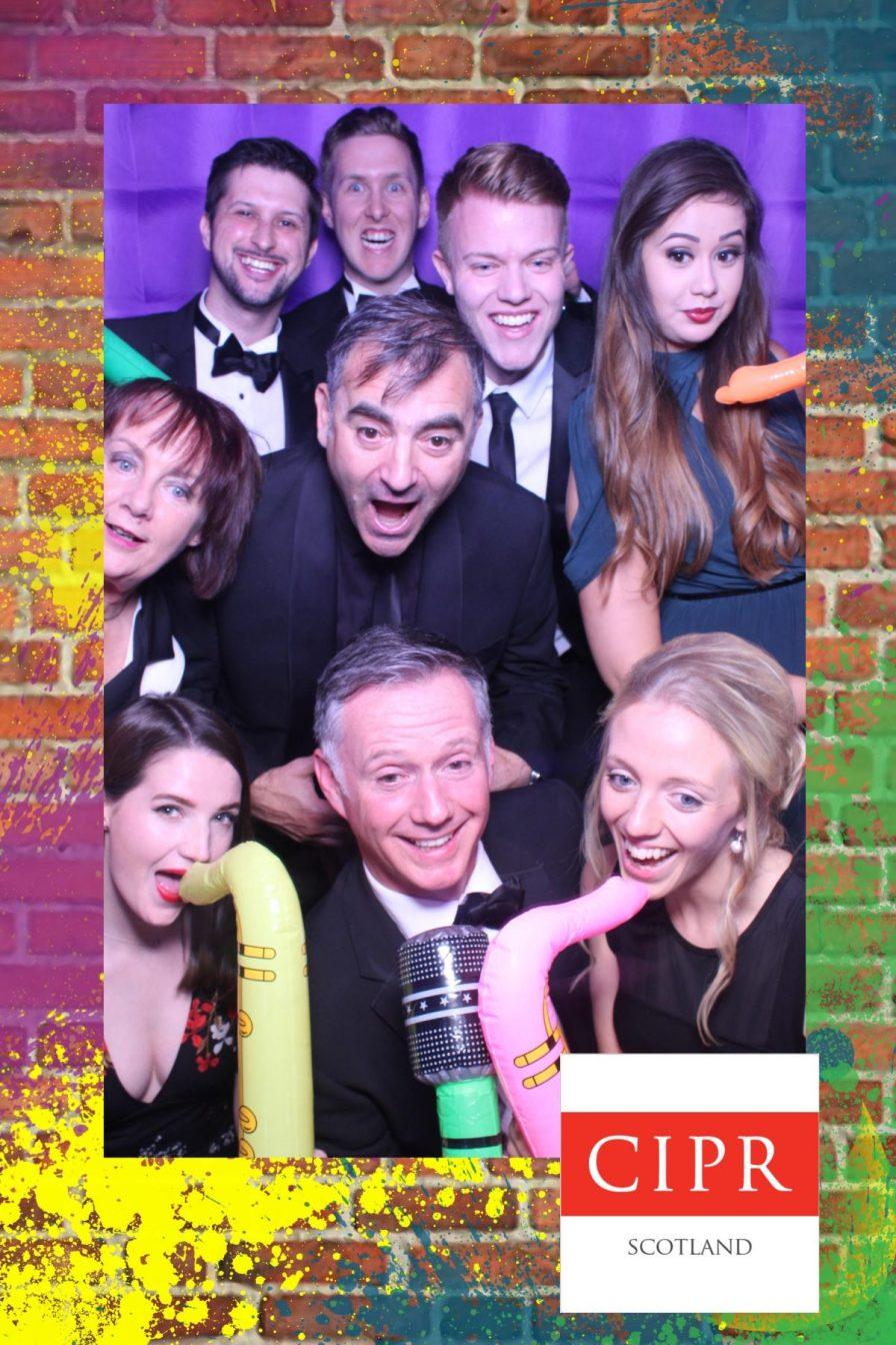 Award winning PR agency team celebrate at 2017 CIPR Scotland PR awards