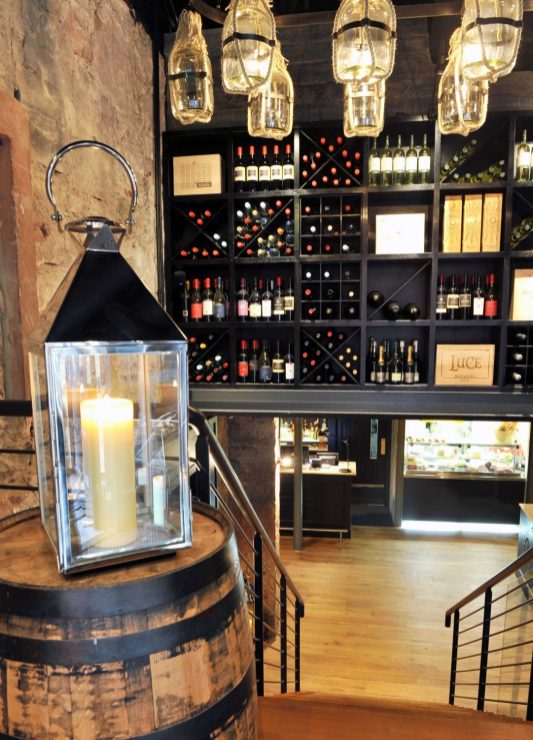 the interior of Divino Enoteca is captured in a Bar and Restaurant PR image