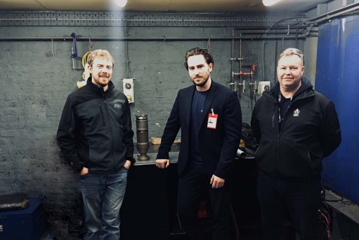 Frazer-Nash engineers tech PR photograpy