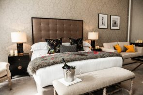 Hotel PR agency helps to promote Nira Caledonia's most romantic hotel bedroom in a PR photograph