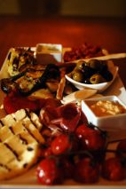 Food and drink PR photography for Tigerlily - Mediterranean sharing platter