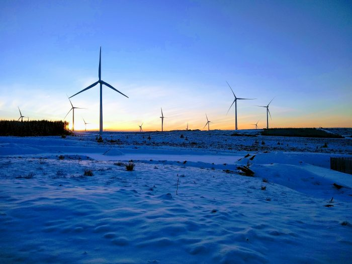 Renewables PR photography to support release about Kype Muir Extension's planning approval