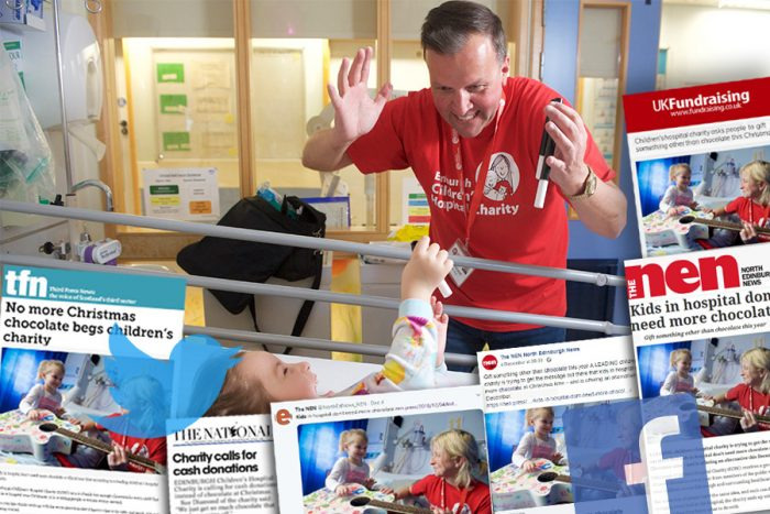 Chatiry PR success for ECHC's Advent Calendar Doors Campaign thanks to experienced team at Holyrood PR