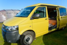 Jerba Campervan used by one medical consultant while she is on call.