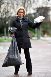 Marilyn Baldwin, founder of the Think Jessica campaign captured in PR photography