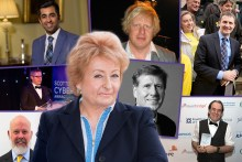Cyber crime thought leader Mandy Haeburn-Little, pictures in PR photo montage