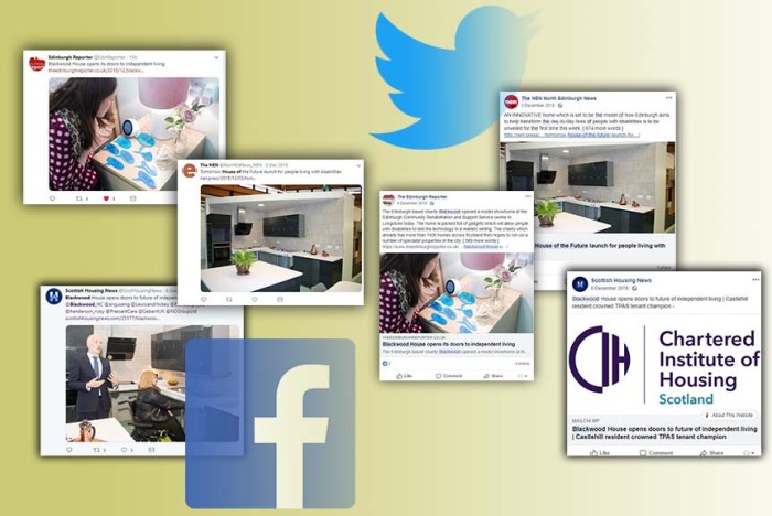 Care PR success montage for Blackwood House