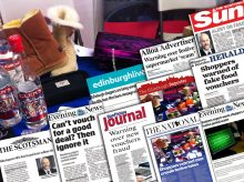 Scottish PR agency, Holyrood PR, delivers mega month of coverage for SBRC in December
