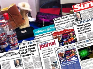 Scottish PR agency, Holyrood PR, delivers mega month of coverage for SBRC in December