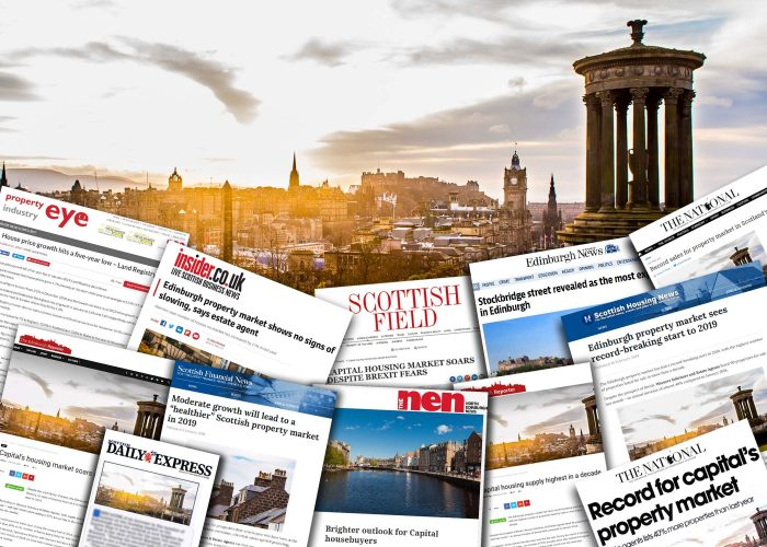 Property PR coverage montage for Warners' start to 2019