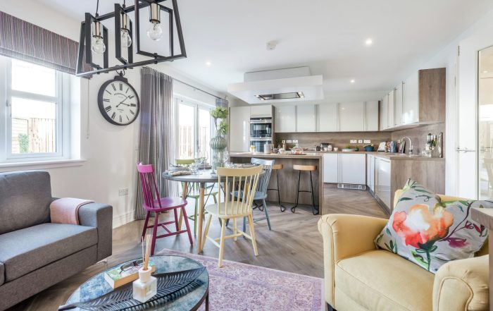 Second phase of showhomes launch at Kingfisher Park, Balerno in March 2019 with property PR
