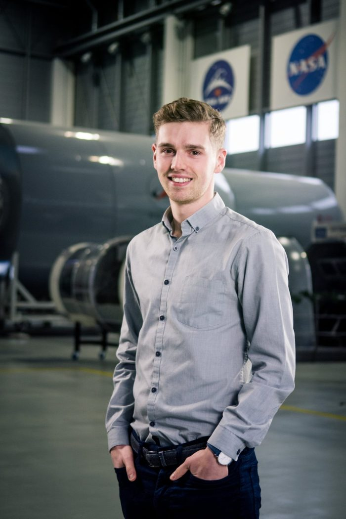 Calum Hervieu, Edinburgh university alumni and organiser of Beyond Earth