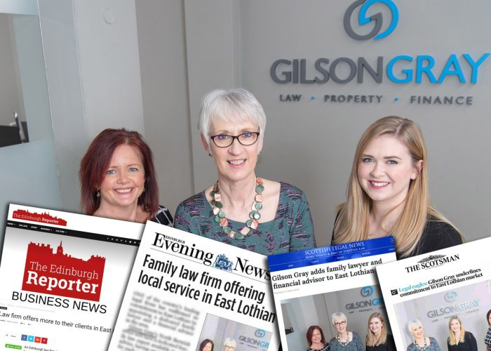 Legal PR coverage montage for Gilson Gray