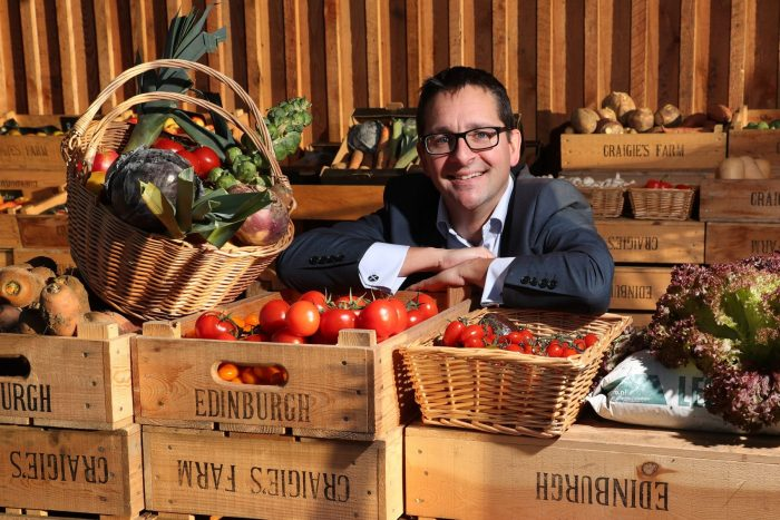 Food and drink PR photograph of James Withers, Chief Executive at Scotland Food and Drink