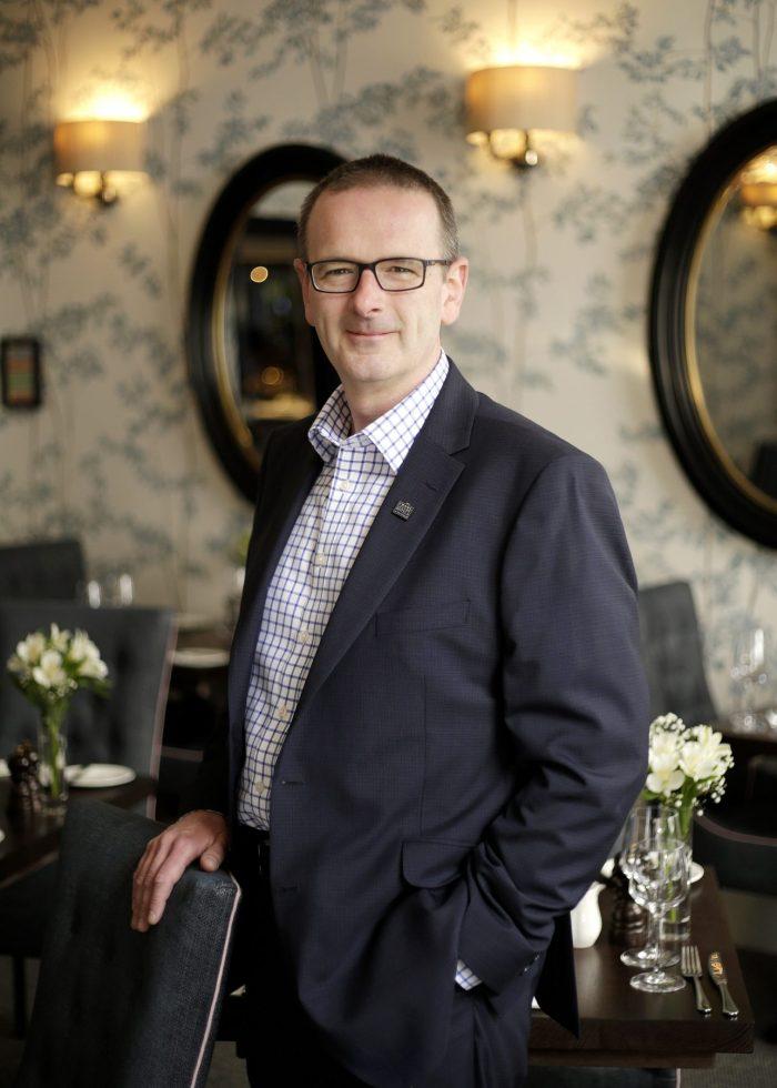 Hotel PR photo of Chris Lynch, General Manager at Nira Caledonia