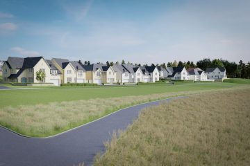 CALA Homes (East) has a selection of developments around Midlothian, including new arrival in Penicuik, Belwood Oaks. Property PR in action.
