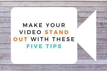 PR video tips from Edinburgh PR agency