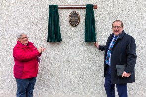 MSP Graeme Dey joins Cairn Housing Association at the launch of its new multi-million pund development in Arbroath, in partnership with Angus Housing Association, Property PR