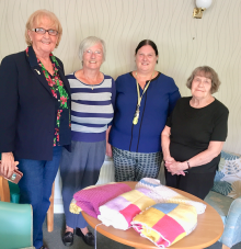 Bield knitters support hospital boxes in Inverclyde | Charity PR