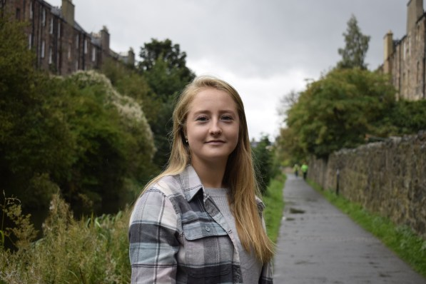 PR photograph of Grace as part of Humans of the Walk campaign
