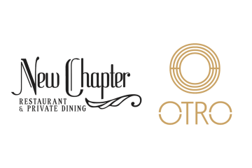 New Chapter and Otro food and drink PR logos