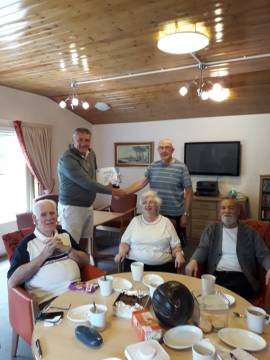 Bield tenants take part in Sporting Memories | Charity PR