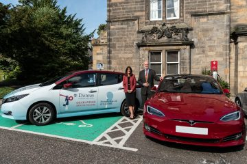 Edinburgh Campus Now Boasts 18 Electric Charging Points