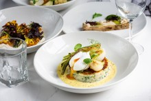 Food and drink PR photography of Otro's brand-new autumn menu