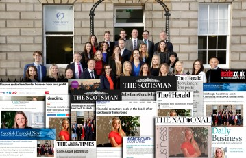 City recruiters' hunt headlines with record year   Professional Services PR