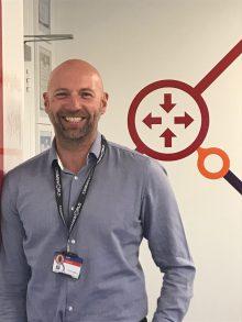 Headshot of Craig Scott, new Business Development Director at Commsworld