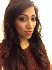 Selfie of Aisha Shafi Dental Aesthetic Expert at clyde munro clinic glasgow hair and beauty pr photo