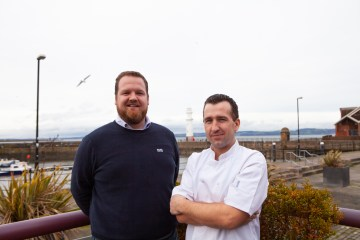 Stylish waterfront brasserie to reel-in foodies from across the city. Food PR