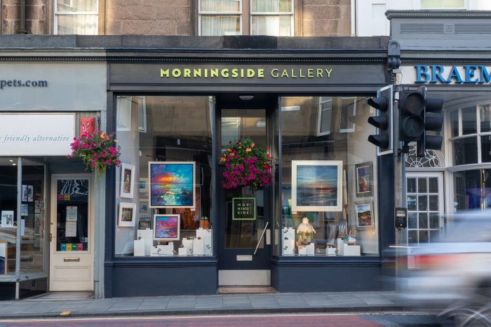 Morningside Gallery works with Scottish PR agency