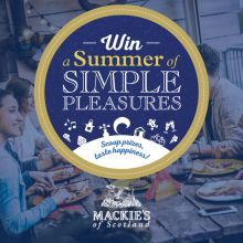 Food and Drink PR graphics of Mackie's of Scotland in Scotland