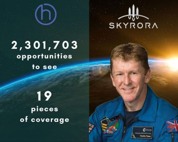Skyrora appoints British astronaut, Tim Peake to advisory board in Tech PR revelation
