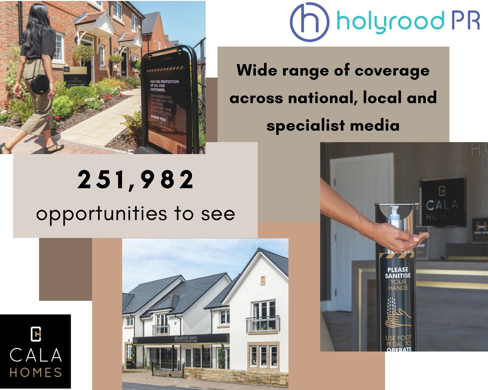 Post lockdown progress for CALA Homes (East) results in a wave of Property PR coverage