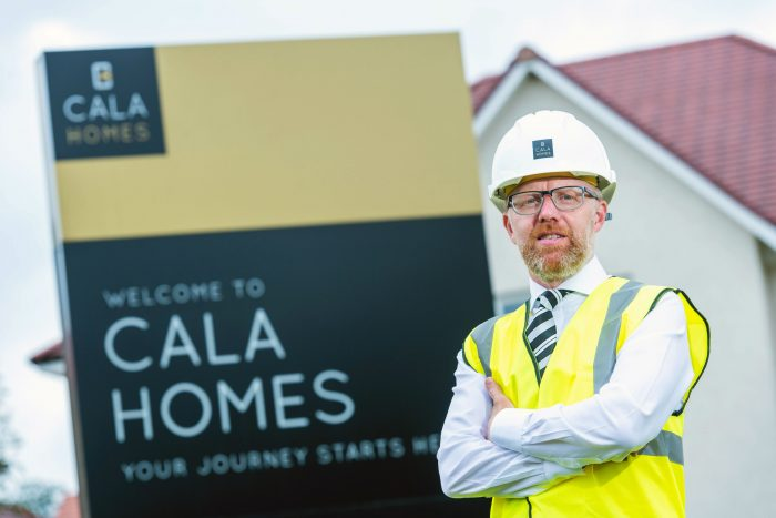 Mark Foley of CALA Homes (East) in Property PR story