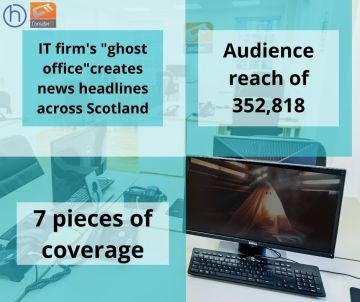 "Edinburgh PR photography ""ghost office"" Consider IT's success post"