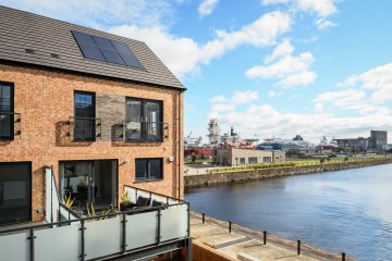 Waterfront Plaza Showhome exterior Property PR photography PR Edinburgh
