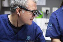 Health PR photography shot of Duncan Black dentist at Halo Dental