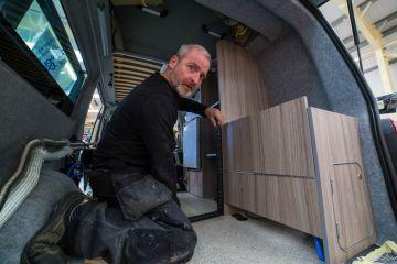 Scottish PR photography Ian Adkin Jerba Camper vans LTD