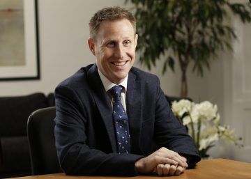 Professional PR photography headshot Mike Stirton, Head of Temporaries at Core Asset Consulting