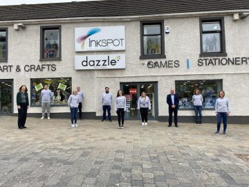 Scottish PR photography, Dazzle Inkspot exterior, Ownership Associates.