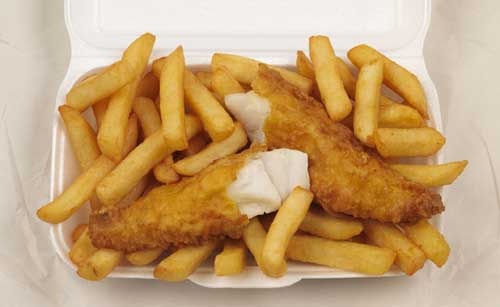 My meal of choice, Fish & Chips