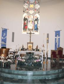 easter altar 2