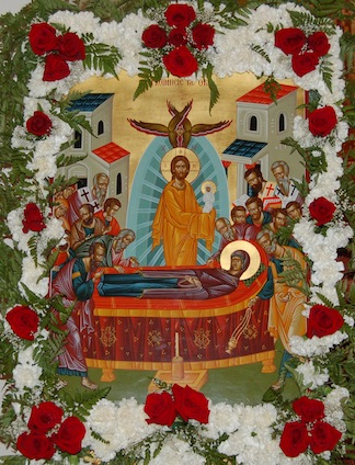 Dormition Icon-small