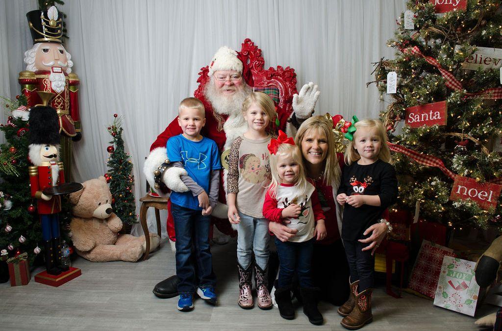 Santa In Store on December 3rd