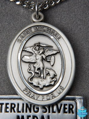 Sterling Silver Patron Saint Medals